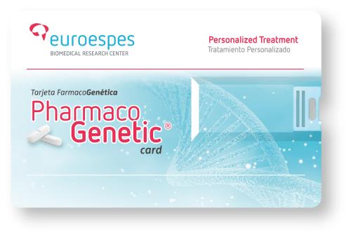 Tarjeta farmacogenetica euroespes