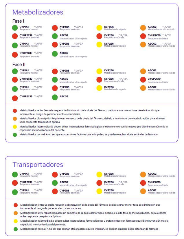 FCO informe metabolizadores y transportadores