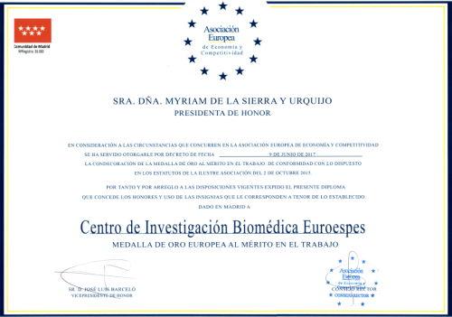 Nuevo reconocimiento para EuroEspes