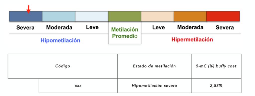 Metilacion global